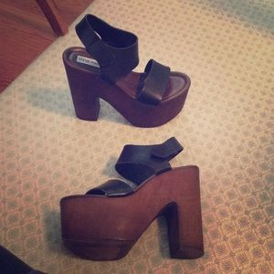 Steve Madden Chunky Platform Heels